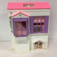 Barbie Dream Doll House Folding 1996 Mattel Pink Roof #903