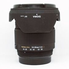 *MINT*Sigma 24-60mm f/2.8 EX DG Lens For Sony/Minolta + UV Filter