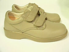 Women`s Apex AMBULATOR Diabetic Taupe Shoes Size 6.5 M Medium, Double Strap`s