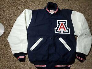 NWOT Arizona Cardinals Letterman Ripon Athletics NCAA Leather Jacket Sz Mens XL
