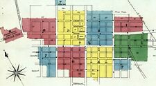 Barton, Vermont~ Sanborn Map© sheets~22 maps in full color made in 1886 to 1922