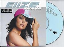 ELIZE - Shake CD SINGLE 2TR Enhanced Europop 2005 (ARS) BELGIUM