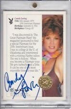 Candy Loving Signed Collector's Card Star Pics Playboy Playmate Autographed