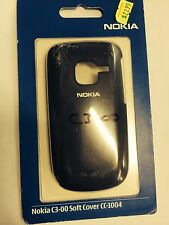 Nokia C3-00 Fitted Soft Cover in Black CC-1004 Brand New in Original Package.