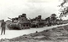 WWII US Press Photo- Armor- Panzer Tank- M3 General Grant Tank- Lee Tank- 1942