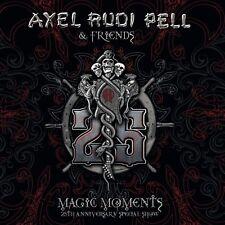 AXEL RUDI PELL - MAGIC MOMENTS (25TH ANNIVERSARY SPECIAL SHOW) 3 CD NEU