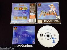 THE ADVENTURES OF ALUNDRA - COMPLETE - FOR PLAYSTATION PS1