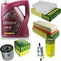 MANNOL 5 L Extreme 5W-40 Motor-Öl+MANN-Filter VW Jetta IV 162 163 1.4 TSI