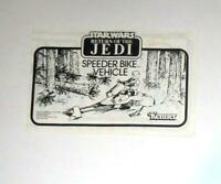 VINTAGE! Kenner 1983 STAR WARS ROTJ Speeder Bike Instructions FREE SHIPPING!