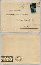 REPUBBLICA-Isolato 3 L Avvento Repubblica(568)-Busta Torino 4.11.1947