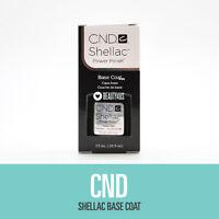 CND Shellac UV Soak-Off Gel Base Coat 0.25 fl oz