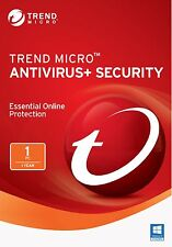 TREND MICRO TITANIUM ANTIVIRUS PLUS SECURITY 2018/2017 -1 YEAR 1PC (ALL LANG)