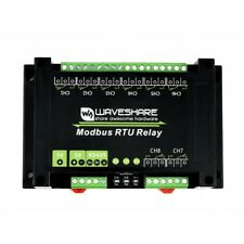 Industrial Modbus Rtu 8 Ch Relay Module With Rs485 Interface Multi Protection