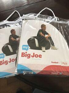 Bean Bag chair My Big Joe Football Bean Bag Chair Cover (empty)