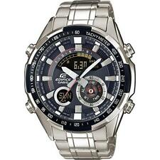 Casio Edifice ERA-600D -1 AVUEF World Time Termometro Inox Watch Rrp £ 170
