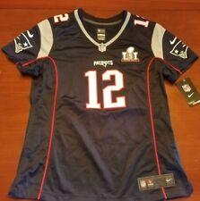 Nike New England Patriots TOM BRADY Super Bowl 51 Jersey Womens Size L NWT New