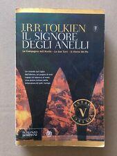 J.R.R Tolkien - IL SIGNORE DEGLI ANELLI - Bompiani Vintage 2014 Alliata