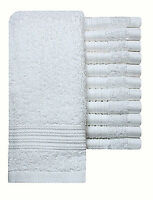 Pack of 12 Premium Quality Face Cloth Towels 100% Cotton Flannels Wash Cloth