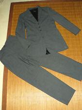 TAIFUN GERRY WEBER grauer Business Anzug Damen Stretch 36 Hose Jacke Blazer #13