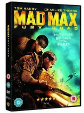 MAD MAX FURY ROAD TOM HARDY CHARLIZE THERON WARNER UK 2015 REGION 2 DVD NEW