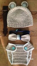 Disfraz Crochet Recién Nacido Bebe 0/3 Meses Ideal Atrezo Fotografía  Ganchillo