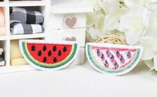 water melon watermelon Embroidered Iron on Sew On Patch badge fruit fabric