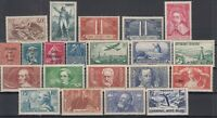 AG4935/ FRANCE – 1930 / 1937 MINT SEMI MODERN LOT - CV 305 $
