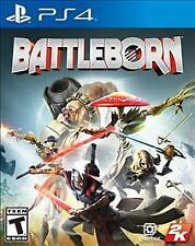 NEW PS4 Battleborn Video Game Sealed T Teen ESRB Online Only