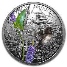 2016 Canada 1 oz Silver $20 Baby Animals (Common Loon) - SKU #98187