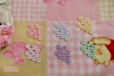 14mm Star Button Pack Of 10. Various Colours For Baby Child Lady & Craft