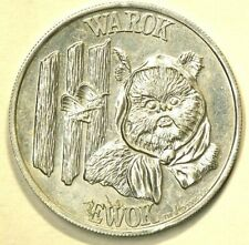 1984 Star Wars Ewok Warok Token #9438