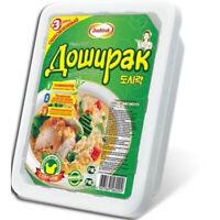 Doschirak instant Nudeln mit Hühnerfleisch Geschmack scharf 90g Nudelgericht