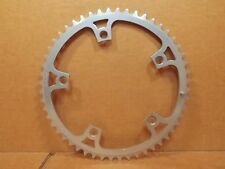 "New-Old-Stock Gipiemme (3/32"") Chainring (52T / 144 mm BCD)...Matte Silver"