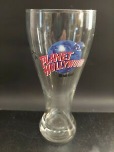 Planet Hollywood Pilsner Beer Drinking Glass Montreal Canada