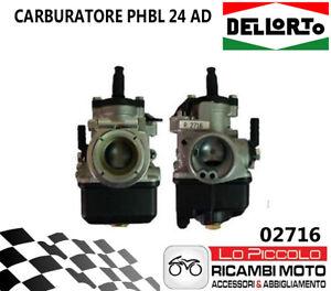 02716 Carburatore PHBL 24mm AD DELL´ORTO UNIVERSALE SCOOTER VESPA MOTO