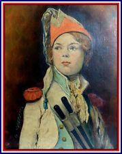 """Portrait de """"Joseph Bara Jeune Tambour"""" Guerre de Vendée Révolution Française"""