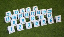 """Agility Nummernschilder von 1-22, A,B,C  / Parcoursaufsteller Nummernset """"COOL"""""""