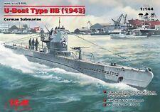ICM Models 1/144 U-Boat Type IIB German Submarine 1943 ICM10