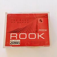 Vintage Rook Card Game Parker Brothers 1968 Red Edition