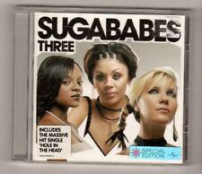 (HX564) Sugababes, Three - 2003 Special Edition CD
