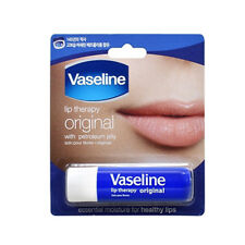 [VASELINE] Lip Therapy ORIGINAL Petroleum Jelly Lip Balm Stick 4.8g NEW
