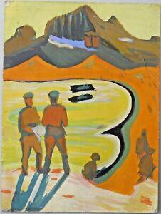 Armenian Art Gallery-Socialist Realist Propaganda Painting,Soviet Army,Armenia