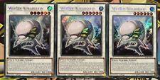 3x Weißer Auradelfin BLLR-DE019 Secret Rare 1.Auflage DEUTSCH PLAYSET Yu-Gi-Oh