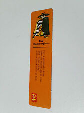 MCDONALDS MACCAS HAMBURGLER BOOKMARK FROM THE EARLY 90S!