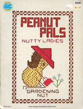 Peanut Pals Nutty Ladies Hobbies Cross Stitch Pattern - 30 Days to Shop & Pay!