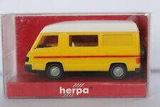Mercedes Benz 100 Bus Hochdach Wohnmobil Herpa 1:87 gelb