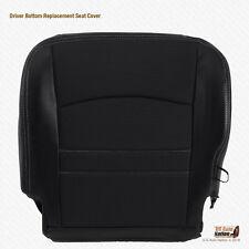 2011 2012 Dodge Ram Sport Driver Side Bottom Dark Gray Cloth/Leather Seat Cover