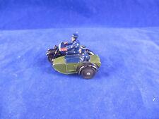 Vintage Dinky Toys 42 Police Patrol Motorcycle & Side car Superb & original