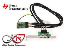 Carte MiniPCIe mPCIe - FIREWIRE 400 800 - Mini PCI Express - TEXAS INSTRUMENTS