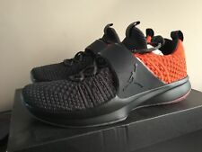 new concept dad56 454ee Nike Air Jordan AJ Trainer 2 Flyknit Anthracite Orange US 11 UK 10 EU 45